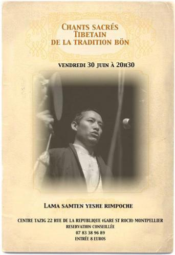 affiche concert 30 juin 2017 à Montpellier - source FB